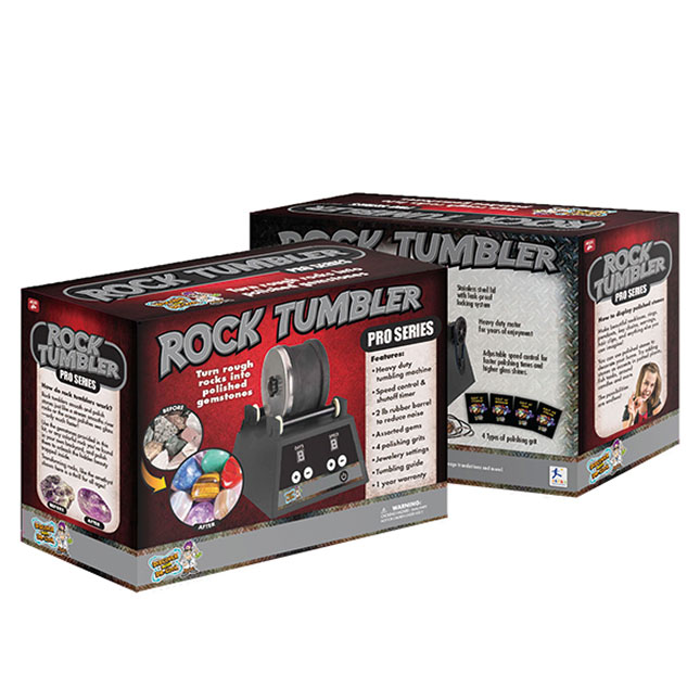 Rock Tumbler - Pro Series - Best Arts & Crafts for Ages 8 to 12