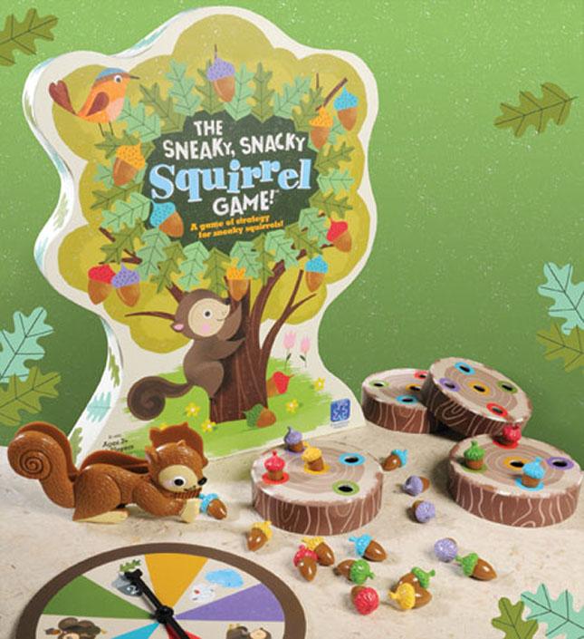 Squirrel Rush Board Game New!