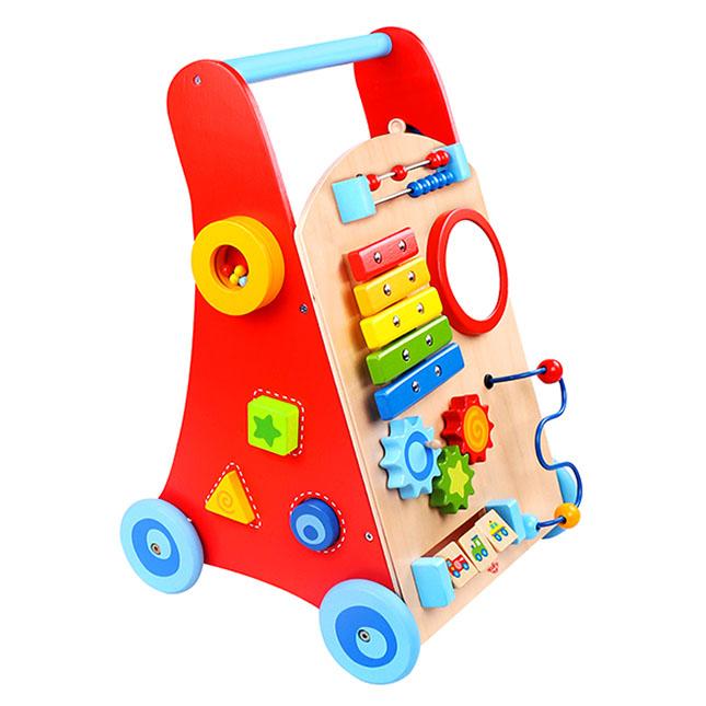 Busy Baby Deluxe Walker - - Fat Brain Toys