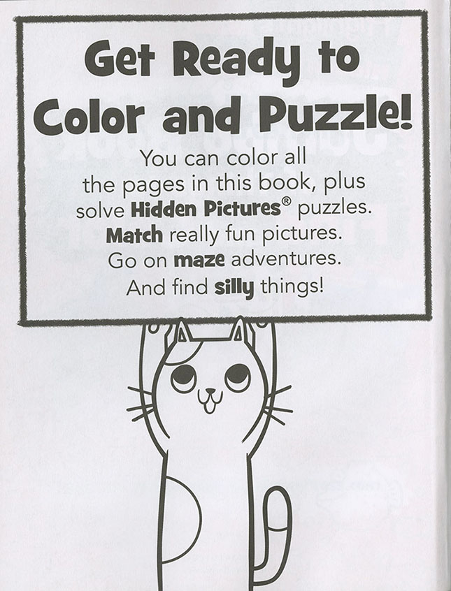 Highlights Hidden Pictures Jumbo Book of Things to Find and Color