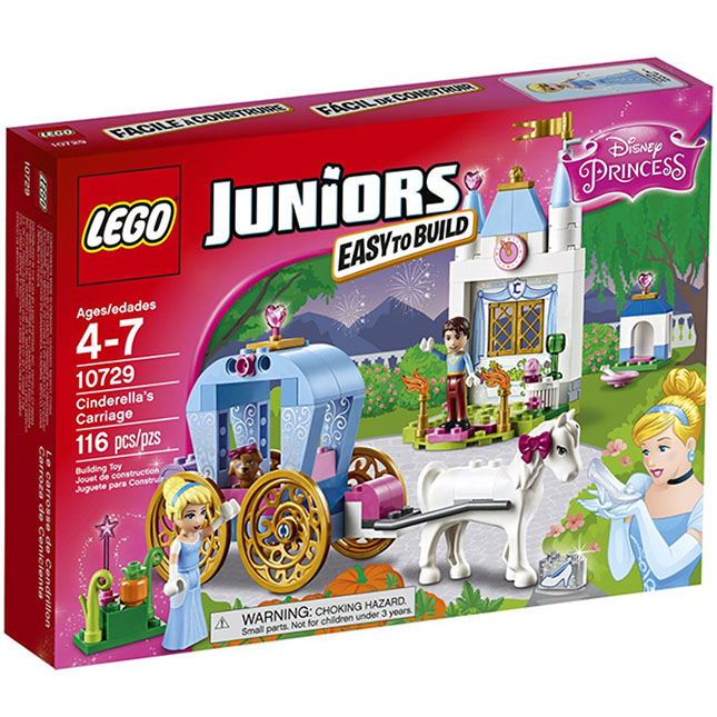 lego junior cinderella carriage instructions
