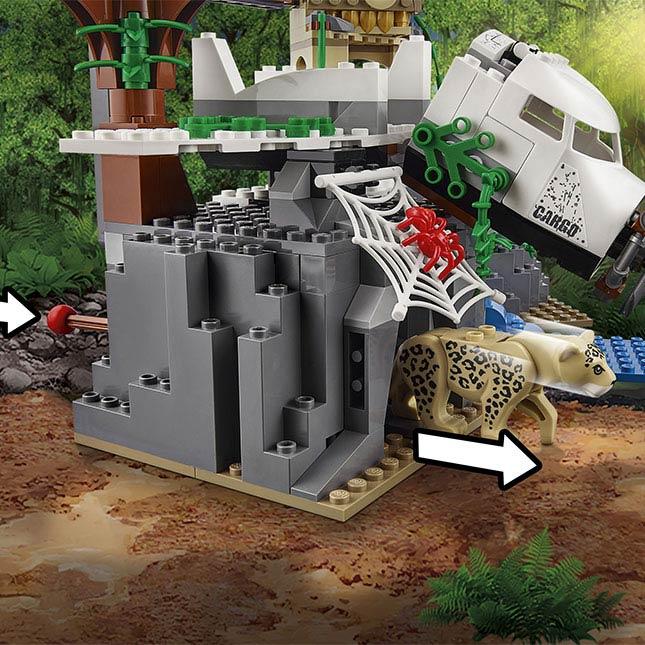 LEGO City Jungle Exploration Site - - Fat Brain Toys