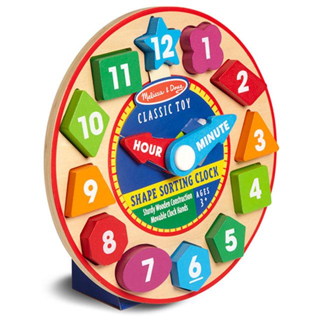 Shape Sorting Clock - - Fat Brain Toys