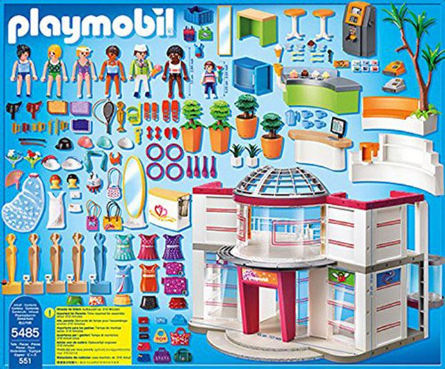 playmobil shopping mall   fat brain toys
