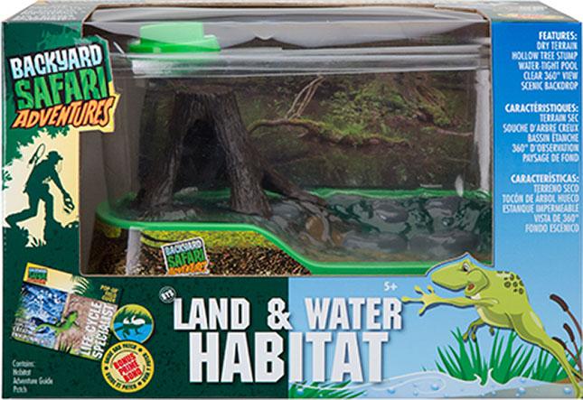 Backyard Safari Land & Water Habitat - - Fat Brain Toys