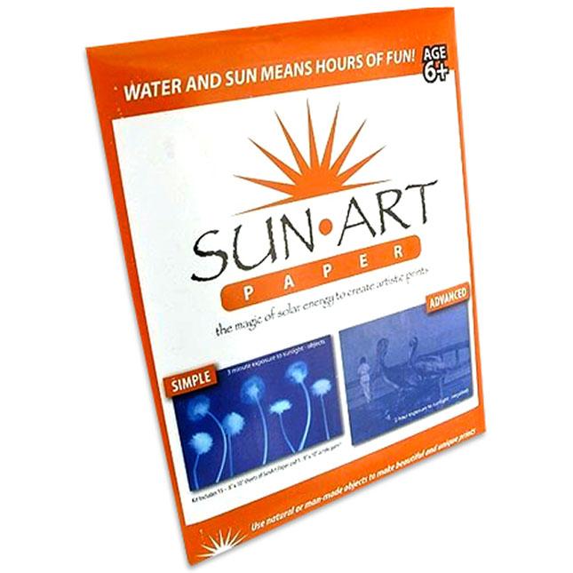"TEDCO Sun Art 12 Sheets of 5/"" X 7/"" Paper Kit"