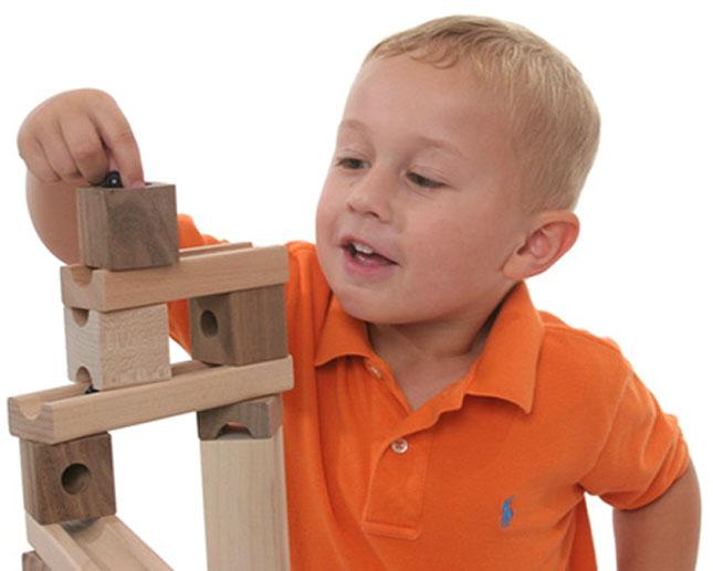 Original Blocks Amp Marbles Super Set Fat Brain Toys