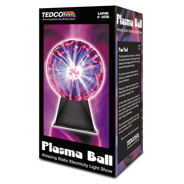 Plasma Ball Toy : Large plasma ball