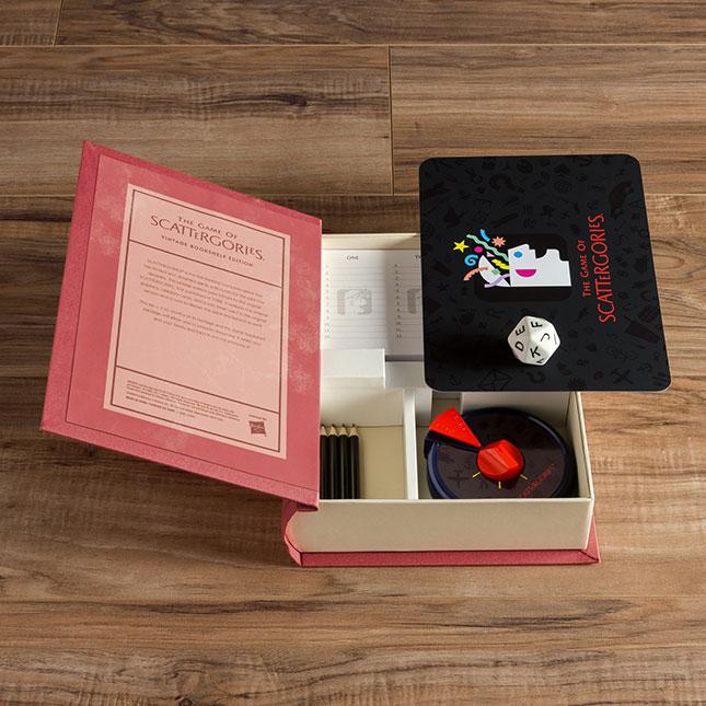 Vintage Bookshelf Edition Scattergories Fat Brain Toys