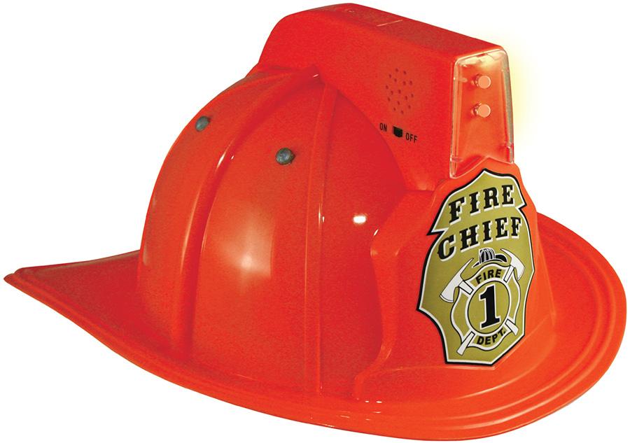 jr fire chief helmet with lights