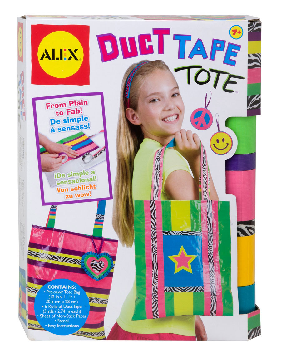 Toys For Ages 6 12 : Duct tape tote