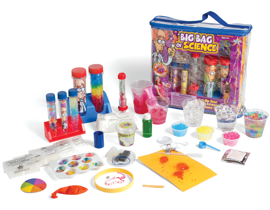Girl Toys 10 11 : Big bag of science