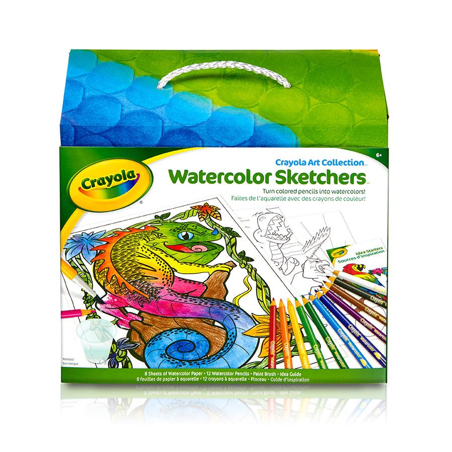 Crayola Art Collection - Watercolor Sketchers
