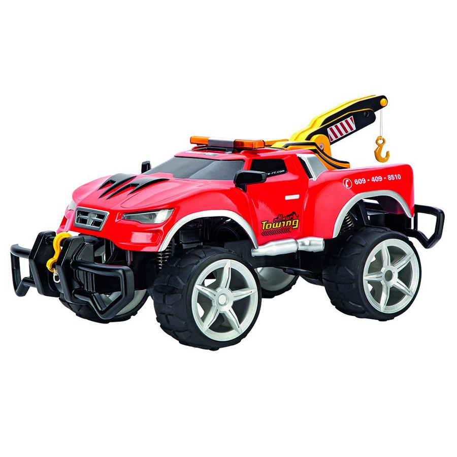 carrera rc 24 hr tow truck fat brain toys. Black Bedroom Furniture Sets. Home Design Ideas