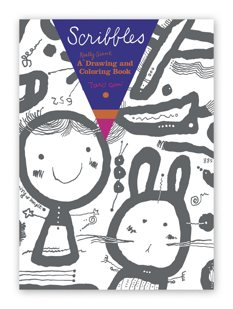 Scribbles Drawing Book : Scribbles a really giant drawing and coloring book