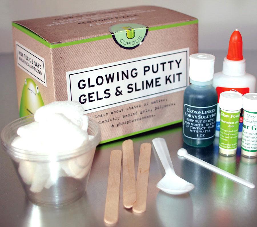 Glowing Putty Gels Slime Kit
