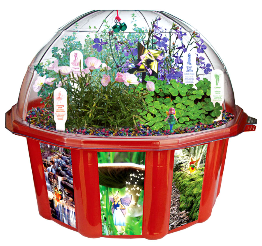 Fairy triad dome terrarium for Crafts for girls age 9