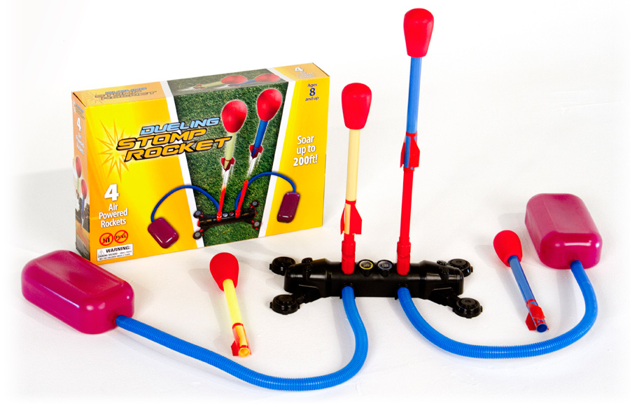 Spaceship Toys For Boys : Dueling stomp rocket