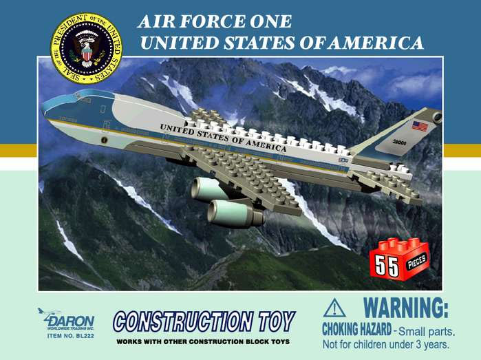 air force 1 toy