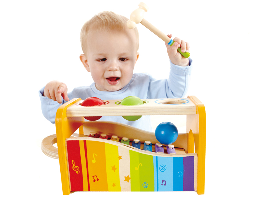 Educational Gift Ideas For 1 Year Old: Early Melodies Pound And Tap Bench