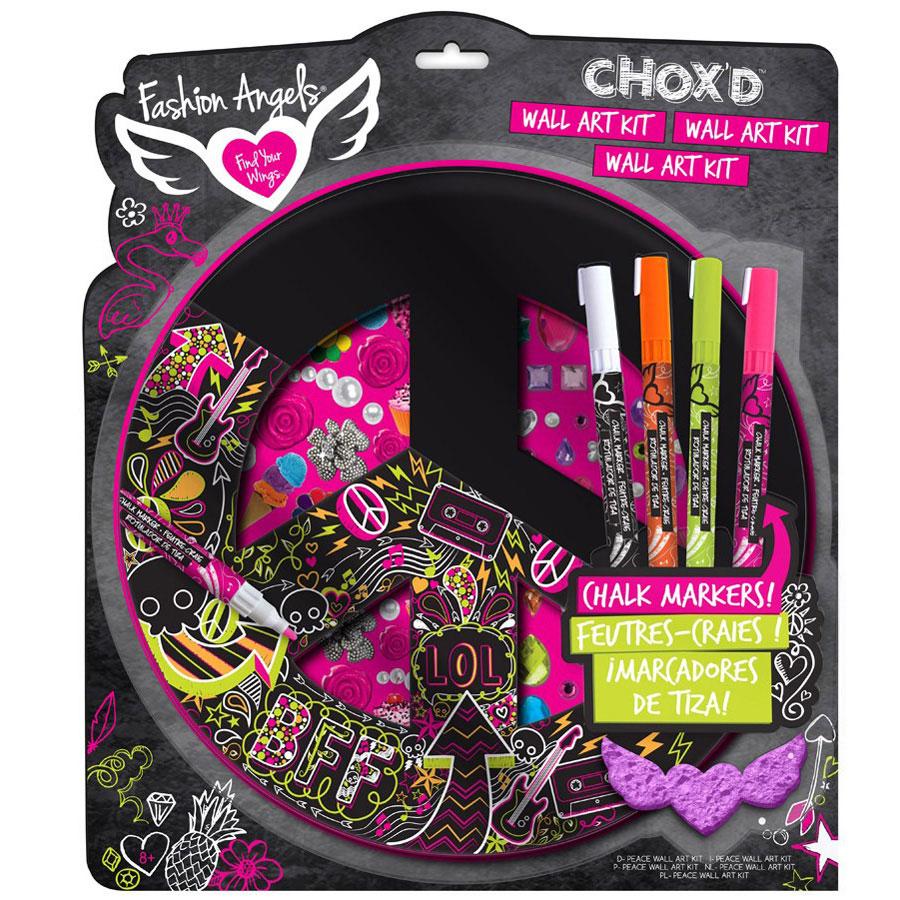 Chox D Chalkboard Peace Sign Wall Art Kit