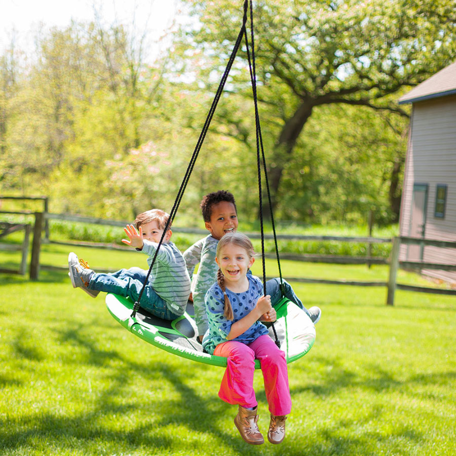 Large Outdoor Toys : Swing a ring large