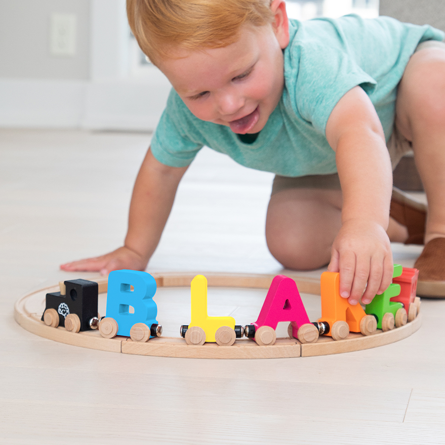 Spell-Your-Name Alphabet Railroad - Best for Ages 3 to 4