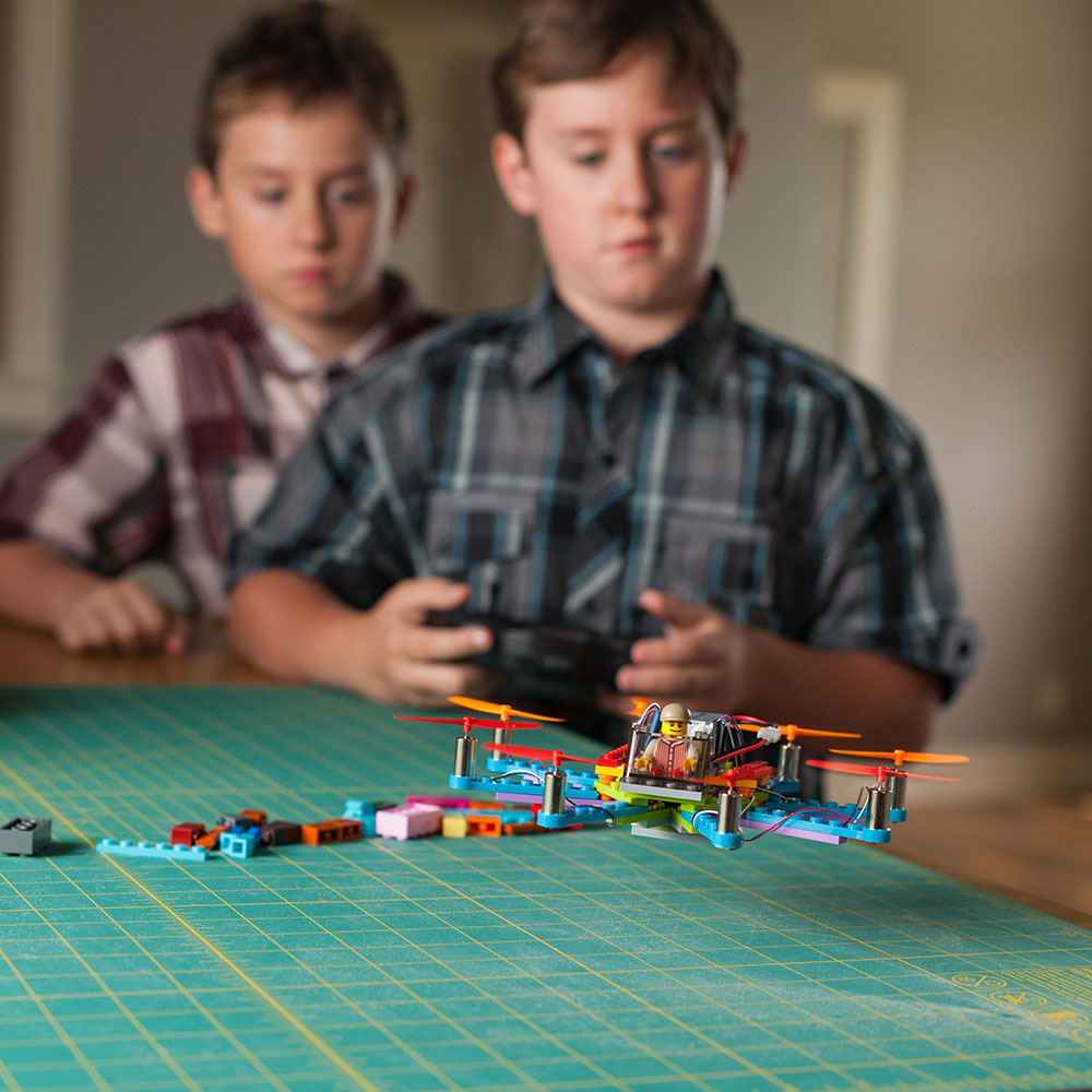 Think, teen playing with toys authoritative answer