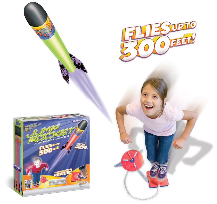 Best Spaceship Rockets Toys For Kids : Jump rocket launcher