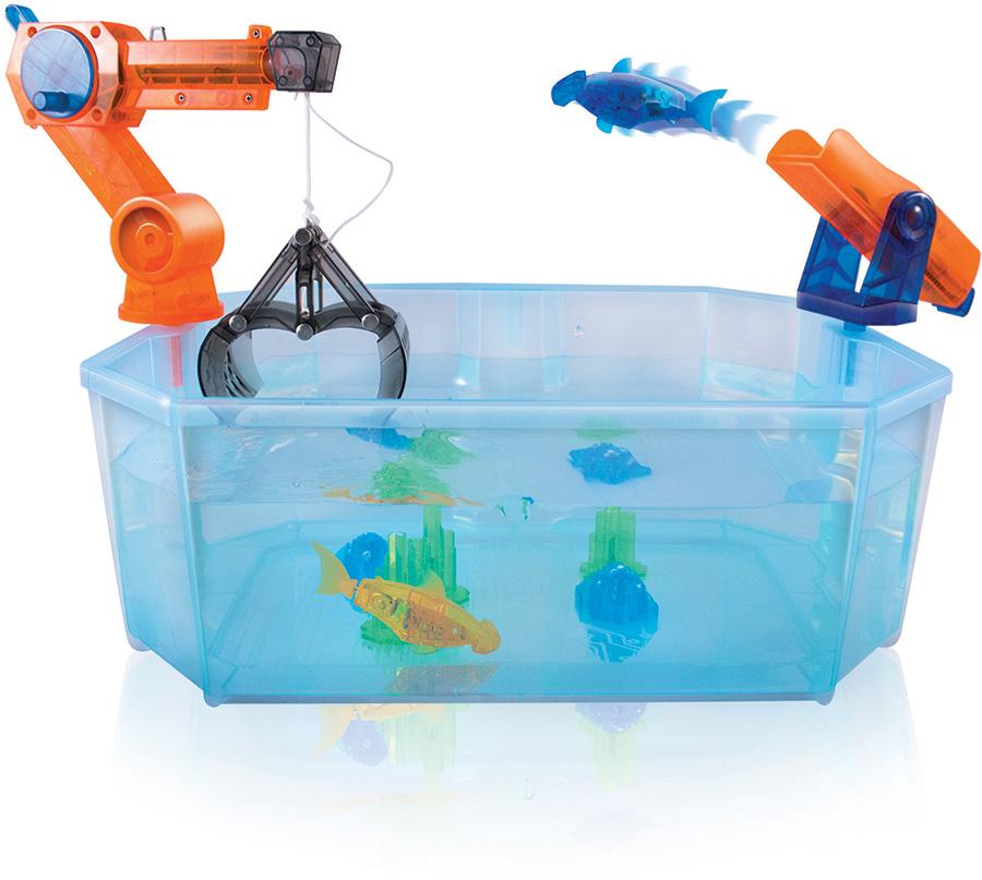 Hexbug Promo Code >> Hexbug Lighted Aquabot 2.0 The Harbour Playset
