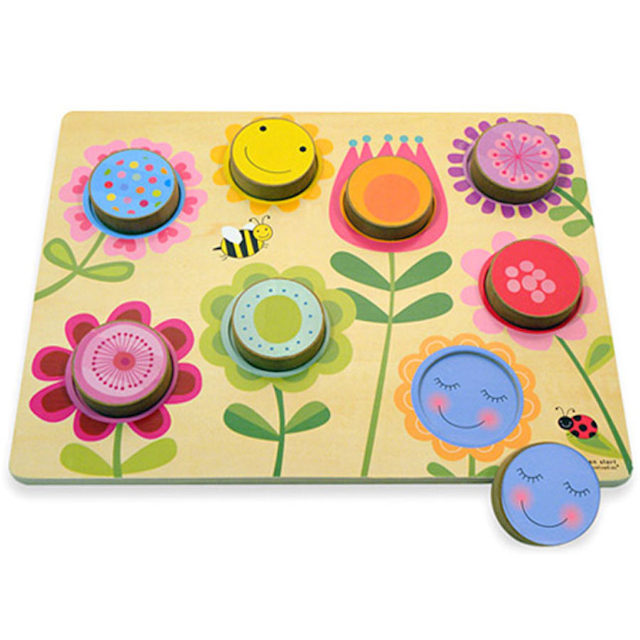 Green Start Chunky Wooden Puzzles Best For Ages 1 To 2