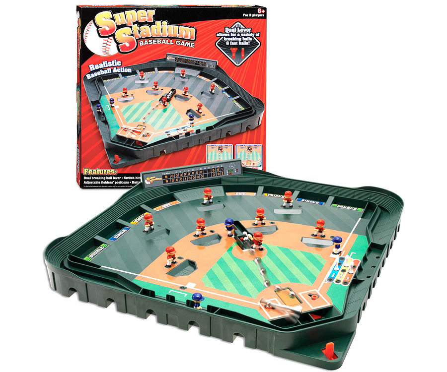 Toys For Boys 12 Years And Up : Super stadium baseball game