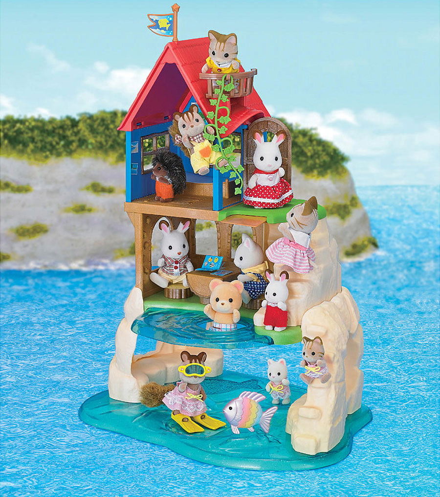 Calico Critters Secret Island Playhouse. Calico Critters