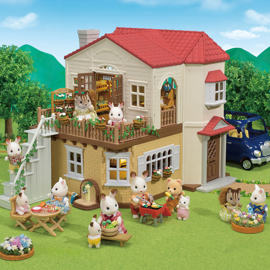 889c54170919 Calico Critters Red Roof Country Home Gift Set - Best for Ages 3 to 10