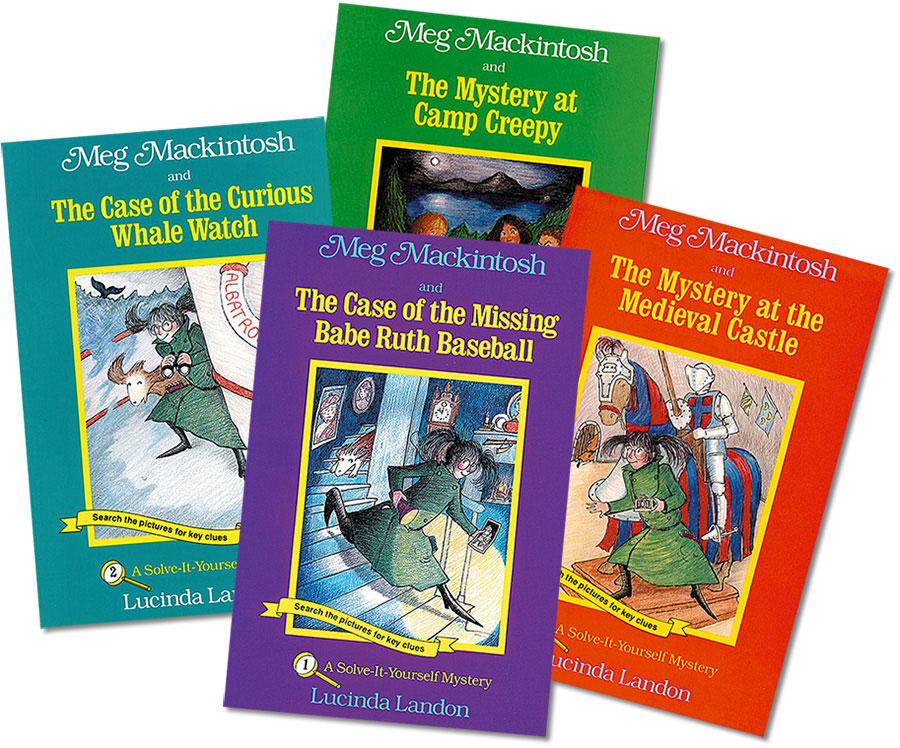 Meg Mackintosh Mysteries Set Of 4