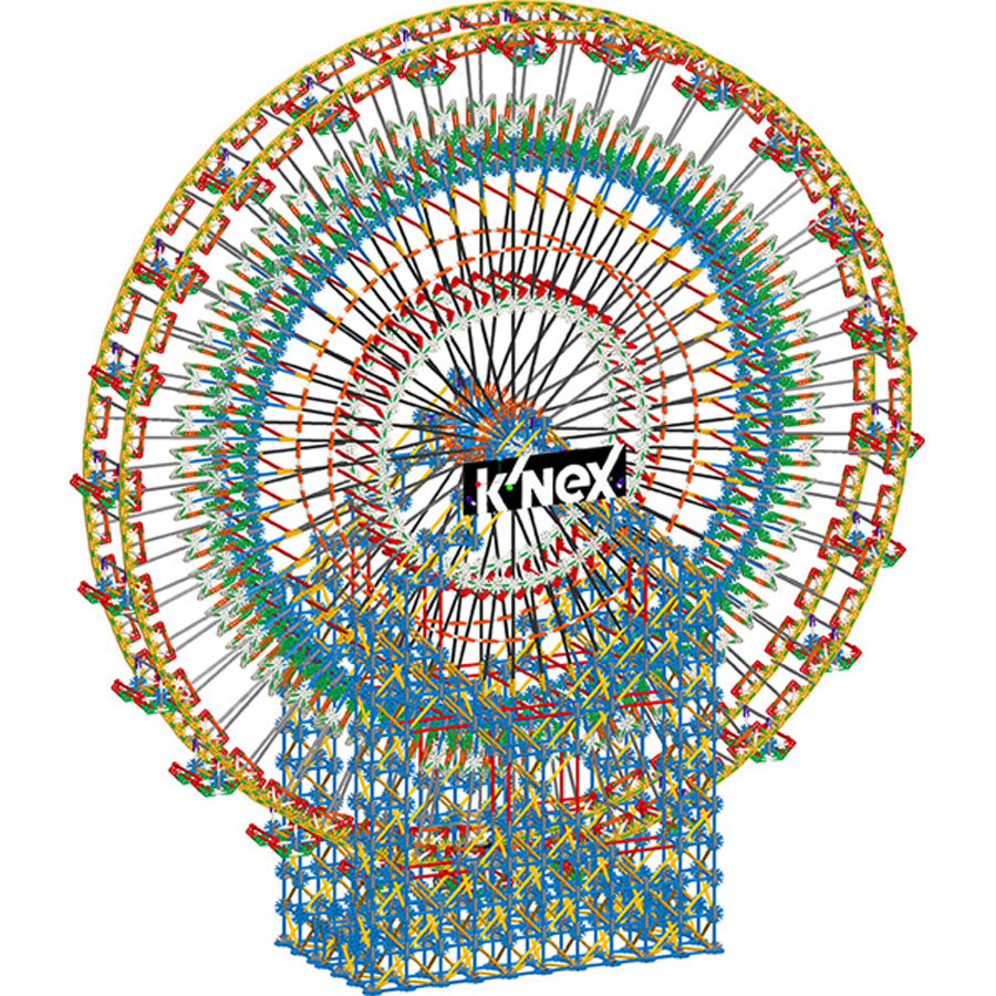 K Nex 6 Foot Ferris Wheel