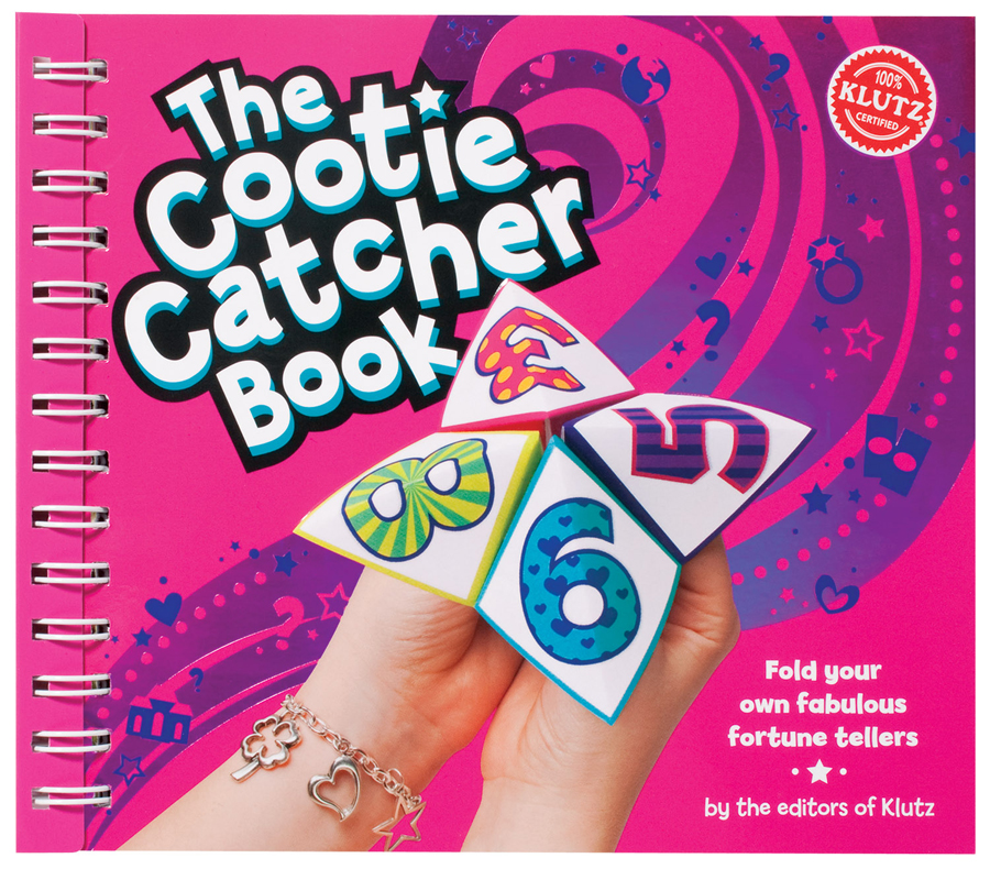 Girl Toys Age 10 And Up : Klutz cootie catcher