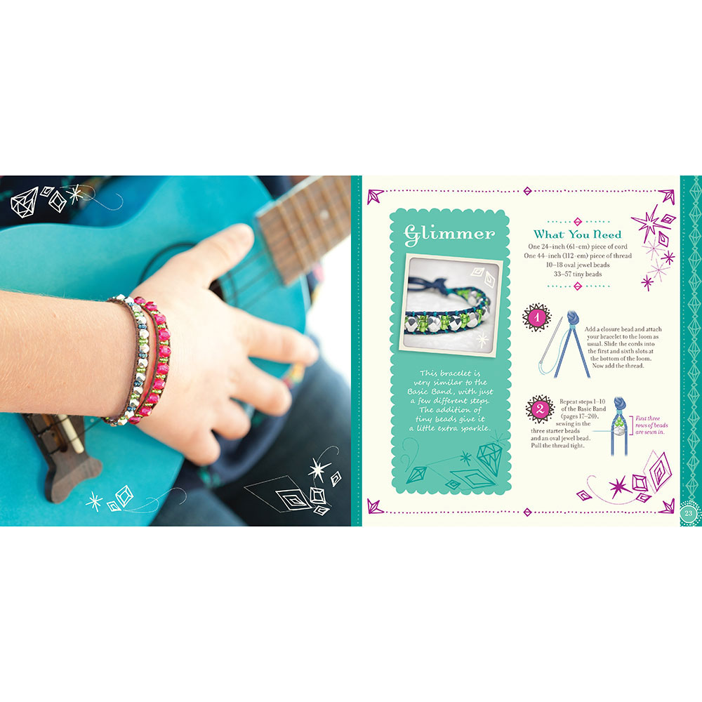 by kids saccio steele beaded bands book eva