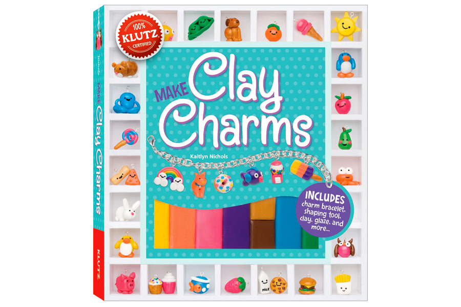 Klutz Clay Charms Best Arts Crafts For Ages 8 To 11
