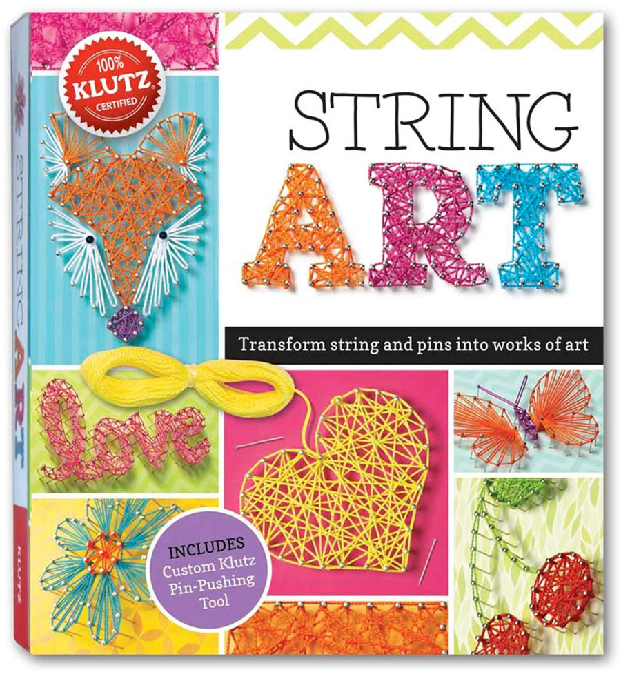 String art craft kit - Klutz String Art