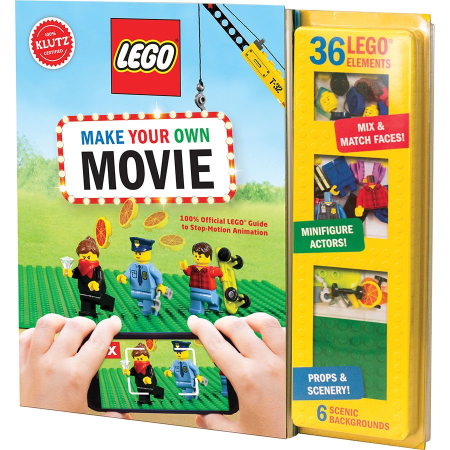 LEGO Make Your Own Movie - Best Books for Ages 8 to 11