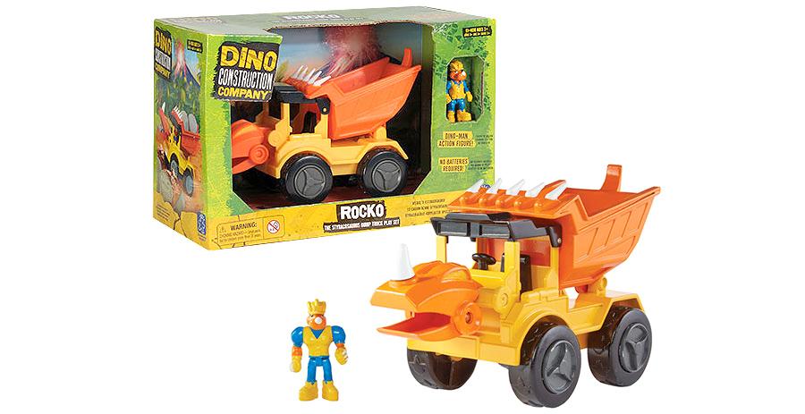 Dino Construction Company Rocko the Styracosaurus Dump ...