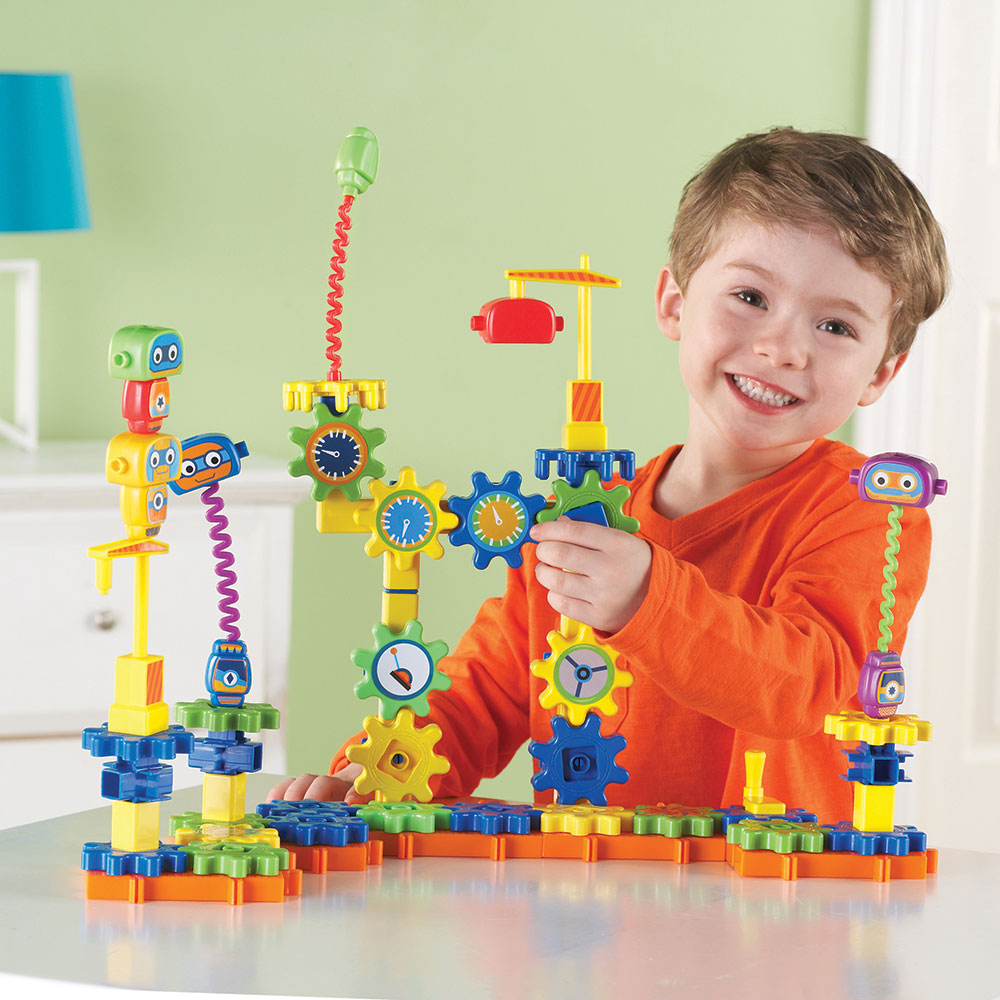Top Learning Resources Toys : Gears robot factory