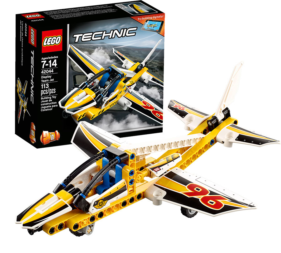 lego technic display team jet. Black Bedroom Furniture Sets. Home Design Ideas