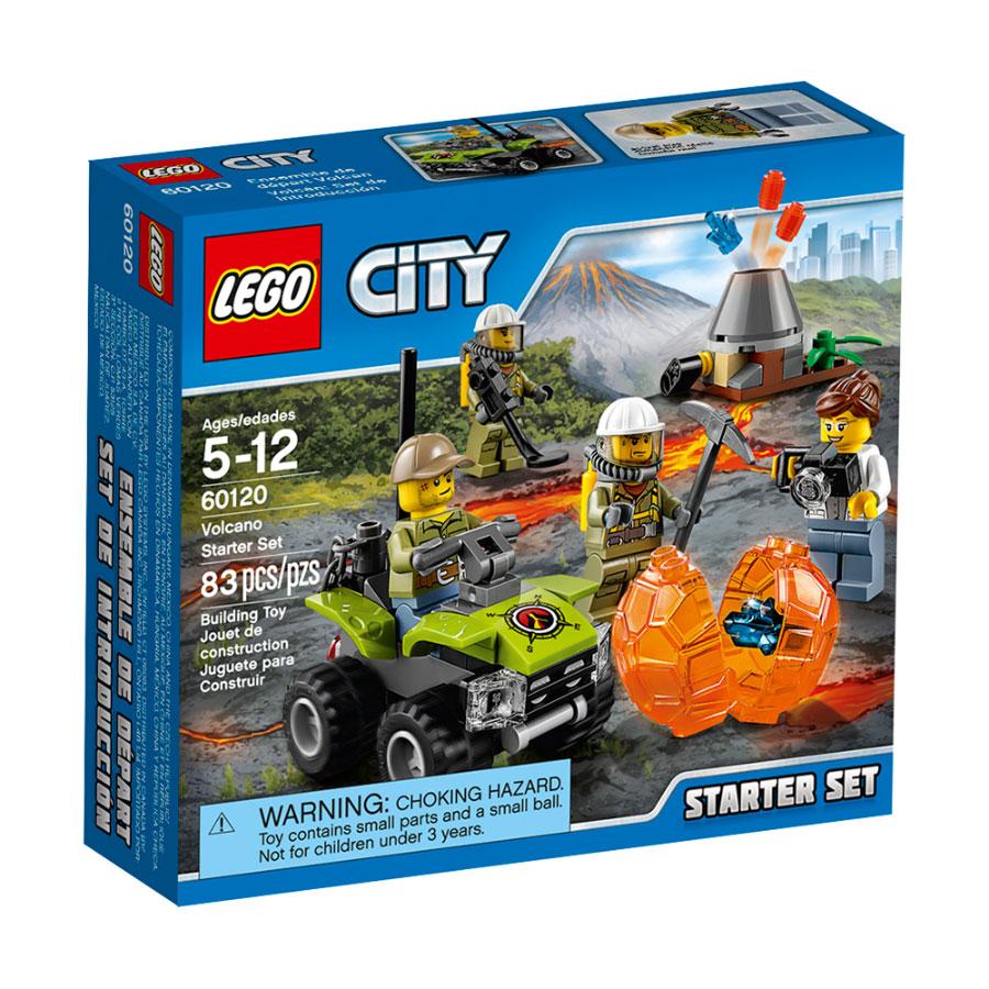 LEGO City - Volcano Starter Set - - Fat Brain Toys