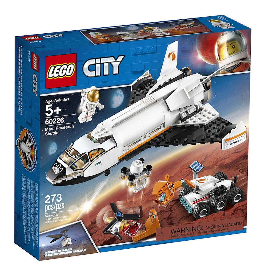 LEGO City Space Port - Mars Research Shuttle - Best for ...