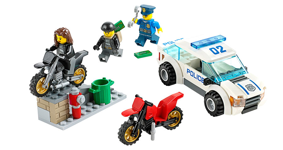 Lego City Police High Speed Police Chase Fat Brain Toys