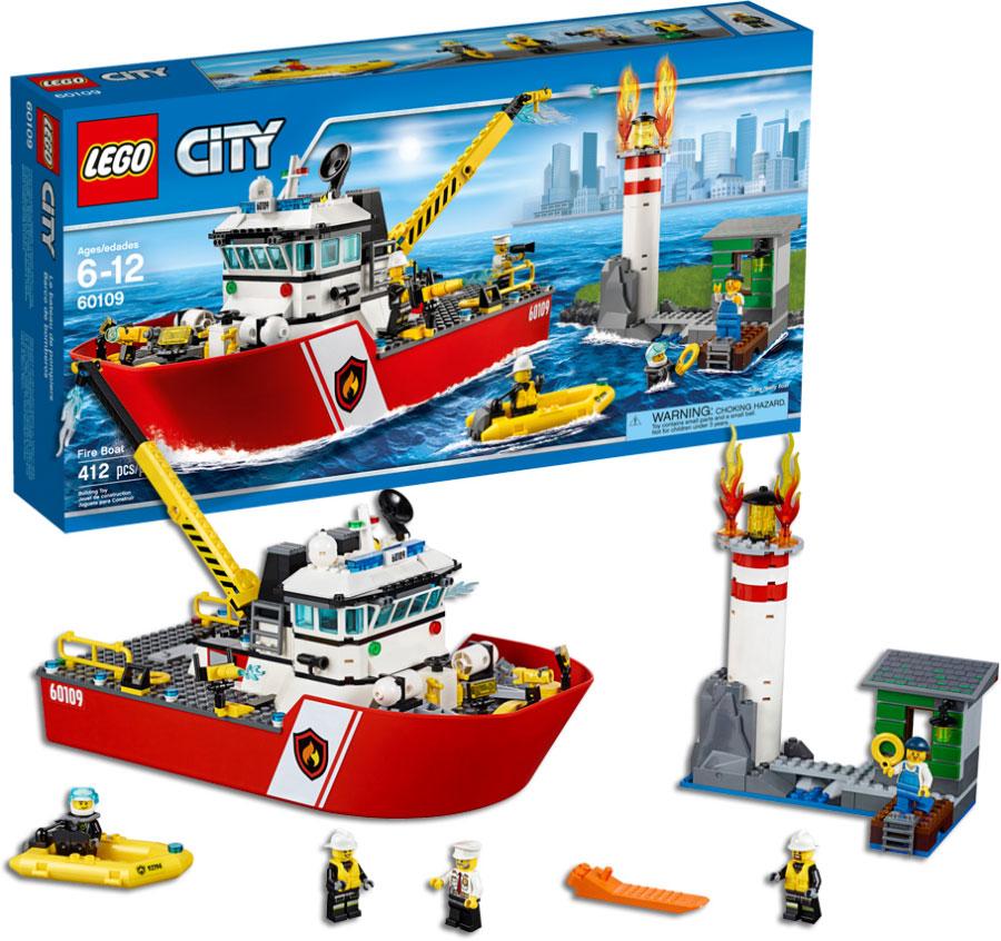 Lego City Fire Fire Boat