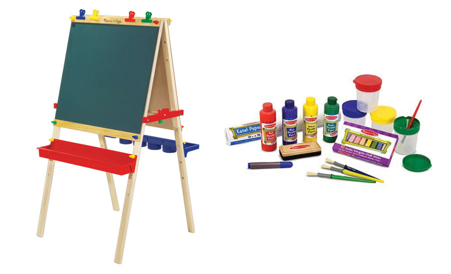 Wooden Easel Amp Accessories Combo Pack