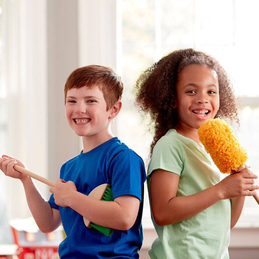 Let S Play House Dust Sweep Amp Mop Best For Ages 3 To 7